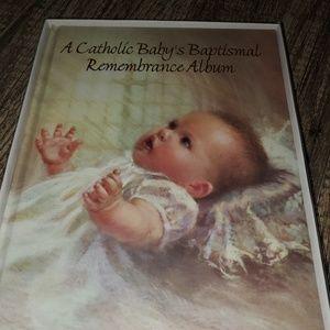 Catholic Baby Baptism Album-brand new
